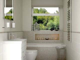 Bathroom by Lena Lobiv Interior Design, Modern