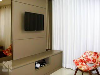 Apartamento Decorado - São José :   por Karla Kétbe Arquitetura & Interiores