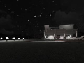 Casa del Lago:  de estilo  por qubo estudio