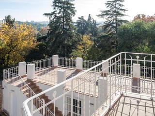 Fuente del Berro: Terrazas de estilo  de Maroto e Ibañez Arquitectos
