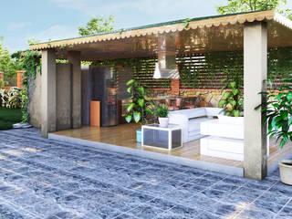 GRNT3D – villa 05:  tarz Bahçe