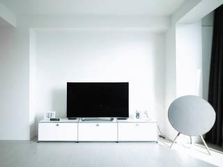 scandinavian Living room by 샐러드보울 디자인 스튜디오