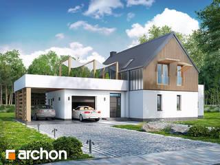Projekt domu ARCHON+ Dom w batatach od ARCHON+ PROJEKTY DOMÓW