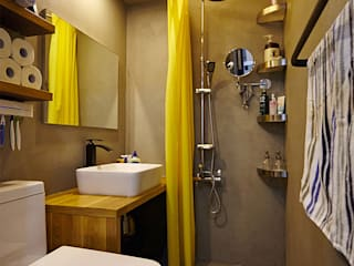 Industrial style bathroom by homify Industrial Concrete