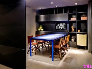 Veggas Design Solutions: Espaços comerciais  por três arquitetura,Moderno