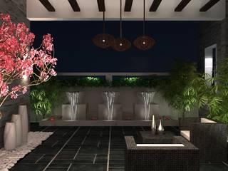 Modern Terrace by De Panache - Interior Architects Modern