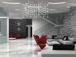 Modern Living Room by De Panache - Interior Architects Modern