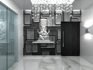 Modern Corridor, Hallway and Staircase by De Panache - Interior Architects Modern