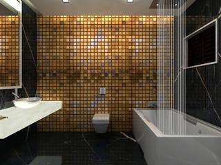 De Panache - Interior Architects حمام زجاج