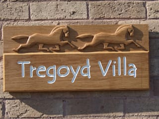 Oak Signs:   by Wood at Golden Valley