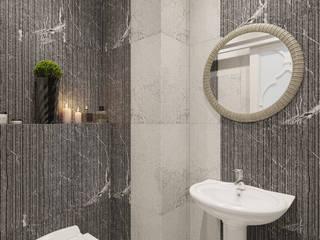 Bathroom by Студия дизайна интерьера Маши Марченко
