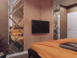 Bedroom by Студия дизайна интерьера Маши Марченко