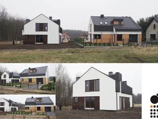 Dom Tychy: styl , w kategorii  zaprojektowany przez MiA Projektowanie Michał Kanclerz