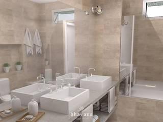 Skandinavische Badezimmer von Bhavana Skandinavisch