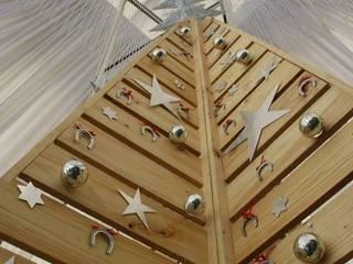 Ambientación y decoración Fiesta de Navidad 2015 de Ver D Comunicaciones Minimalista