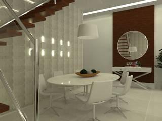 Cobertura Recreio Salas de jantar ecléticas por L N arquitetos Eclético