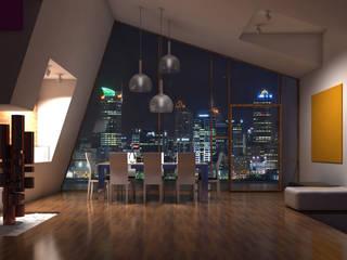 Interiores 3D Render de Atahualpa 3D Moderno