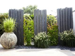MM NATURSTEIN GMBH Garden Fencing & walls Stone Black