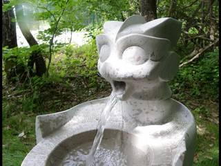 Arlequin 藝術品雕刻品 石器 Grey