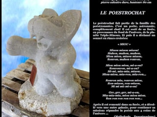 Arlequin 藝術品雕刻品 石器