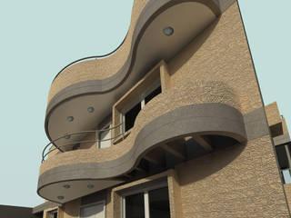 Houses by OMAR SEIJAS, ARQUITECTO, Modern