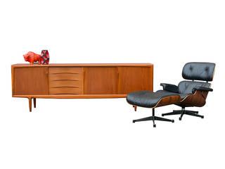 Duński sideboard projekt Gunni Oman: styl , w kategorii  zaprojektowany przez Simply Modern