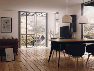 Viviendas Prefabricadas: Livings de estilo  por BS ARQ