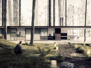Maisons modernes par BS ARQ Moderne