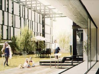 Jardin moderne par BS ARQ Moderne