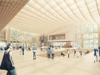 Guggenheim Helsinki Competition: Casas de estilo escandinavo por BS ARQ