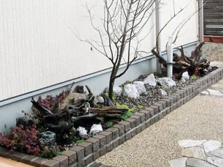 小さいお庭(坪庭) モダンな庭 の 匠ガーデン モダン