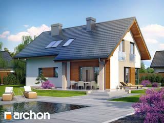 Projekt domu ARCHON+ Dom w wisteriach od ARCHON+ PROJEKTY DOMÓW