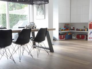 Villa | Houten vloer:  Keuken door Zilva Vloeren