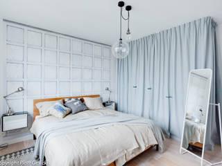 Scandinavian style bedroom by Loft Factory Scandinavian