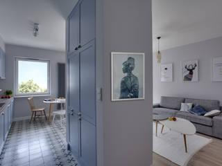 Pasillos y recibidores de estilo  por Loft Factory