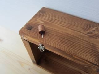 木の壁掛け棚(大・中・小セット): 作房和樂(サボウワラク)が手掛けたです。