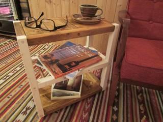 サイドテーブル(キャスター付き): 作房和樂(サボウワラク)が手掛けたです。