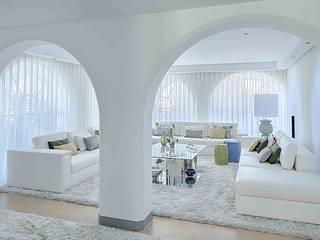 MORADIA RESTELO Salas de estar modernas por Artica by CSS Moderno