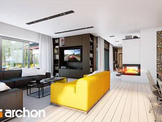 Projekt domu ARCHON+ Dom w kliwiach (G2) od ARCHON+ PROJEKTY DOMÓW