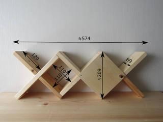 トイレラック-B: 作房和樂(サボウワラク)が手掛けた折衷的なです。,オリジナル