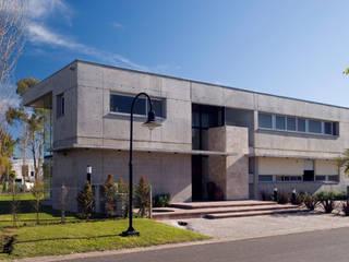 JV&ARQS Asociados Casas modernas Concreto