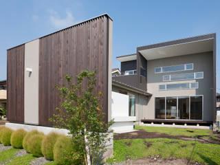 みどりの家: 空間設計室/kukanarchiが手掛けた庭です。