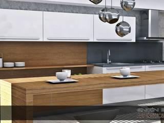 innamorato Modern Mutfak EN+SA MİMARİ TASARIM DEKORASYON MOB.İNŞ.SAN. VE TİC .LTD. ŞTİ Modern