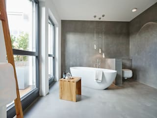 Penthouse:  Badezimmer von HONEYandSPICE innenarchitektur + design