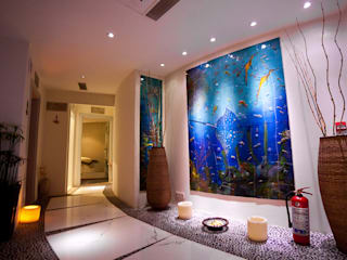 Cam Deniz Dibi Çalışmaları / Bodrium Otel / Manastır Otel Diger Örnekler Camdal Akdeniz Spa Cam