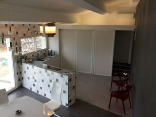 LA CUCINA IN TUTTE LE SUE FORME...: Cucina in stile in stile Moderno di Inarte Progetti di Lucio Mana