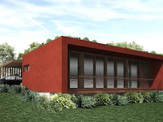 Chalets Design: Casas  por Atelier O'Reilly Architecture & Partners