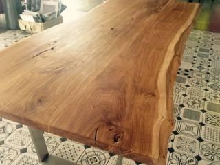 Naturalny Dąb od TREBORD Skandynawski Lite drewno Wielokolorowy