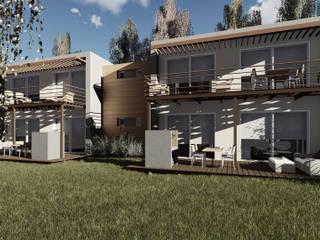 Proyecto Punta Casas modernas: Ideas, imágenes y decoración de Singular Arquitectura Moderno