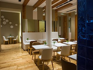 RESTAURANTE - JONY RULES HOTEL PORTUGAL LISBOA Espaços de restauração modernos por Artica by CSS Moderno